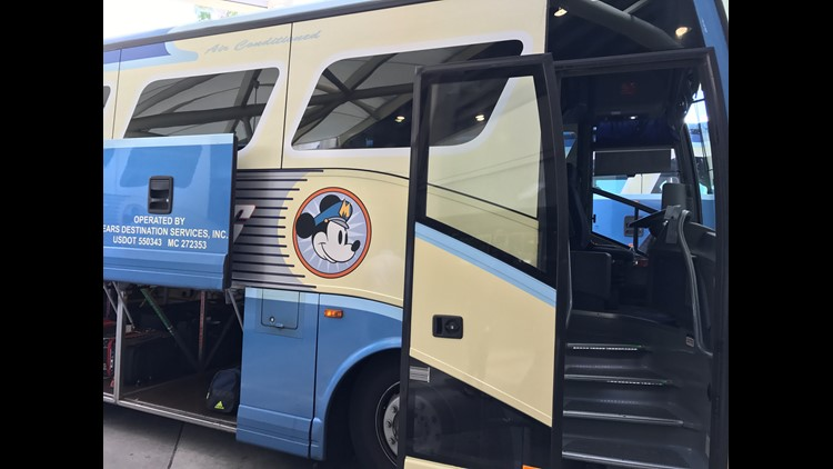 Disney's Magical Express Bus will whisk you to and from MCO.