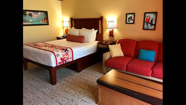 DVC room at Disney's Polynesian Village Resort. (Photo by Summer Hull / The Points Guy)
