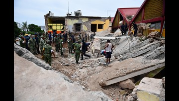 Death toll rises to 90 after Mexico earthquake
