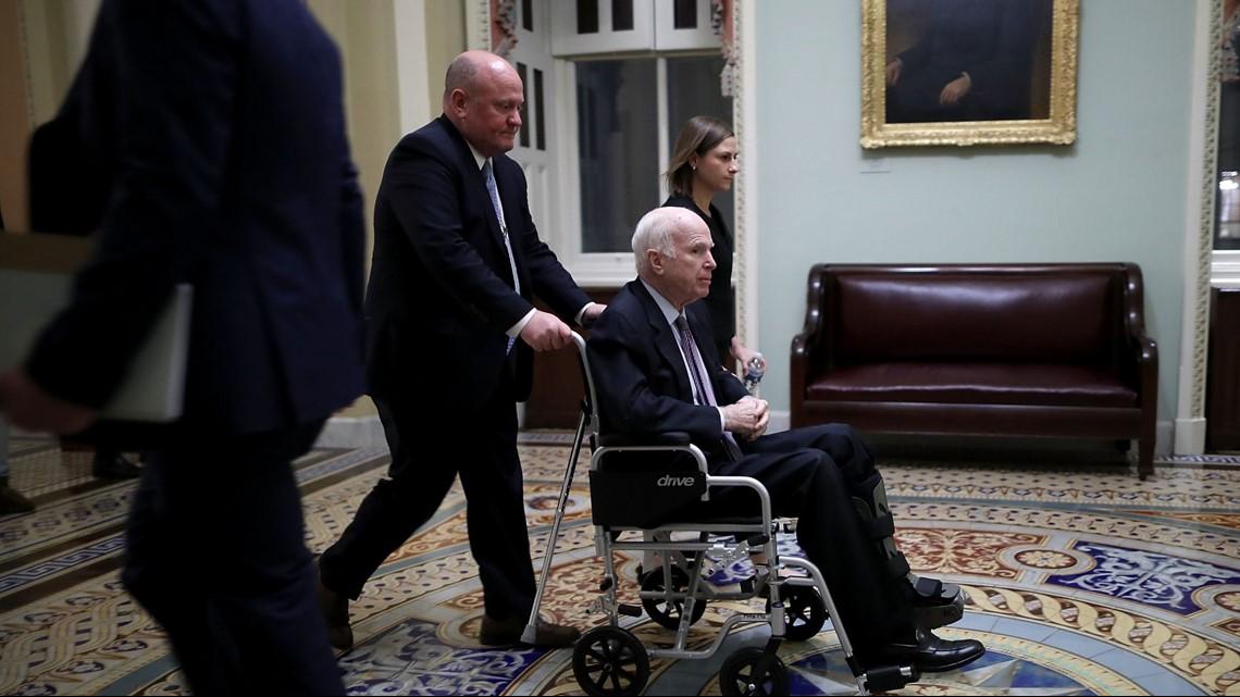 Sen  John McCain dies after battling brain cancer | krem com