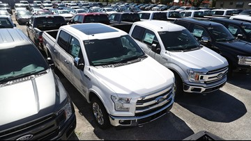 Ford recalls 2 million F-150 pickup trucks to fix seat belt defect causing fires