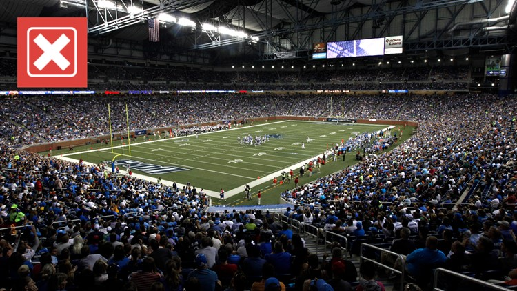No, NFL teams aren't currently requiring fans to be vaccinated against COVID-19 to attend games