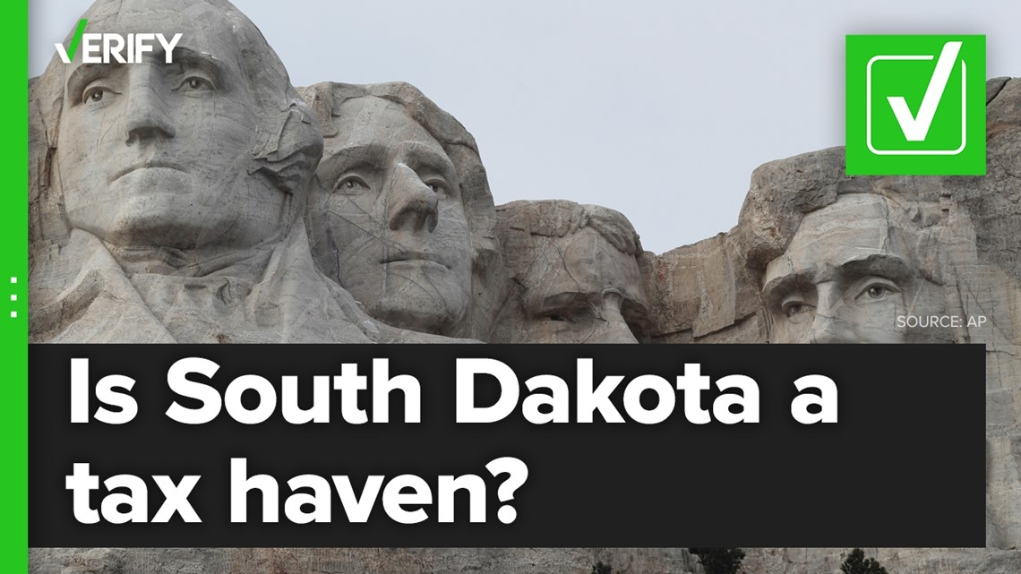 Fact-checking if South Dakota is considered a tax haven