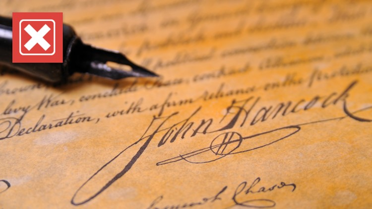 No, the Declaration of Independence wasn't signed on July 4, 1776