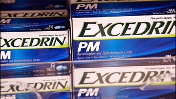 Two varieties of Excedrin pulled off market as precaution