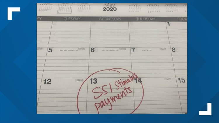 Get ready! SSI recipients get stimulus payment May 13
