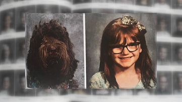 'She's always there' | Louisville service dog gets her own yearbook photo
