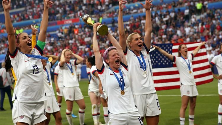 APTOPIX France US Netherlands WWCup Soccer