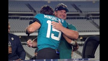 Gardner Minshew's dad opens up about son's journey to Jacksonville Jaguars