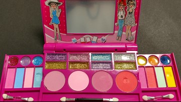 Children's makeup kit is full of asbestos, test reveals