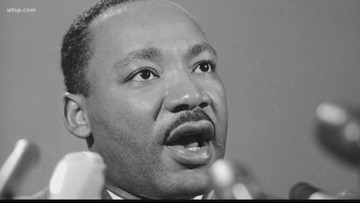 Watch Live: Hundreds gather for MLK Day rally, march in downtown Spokane