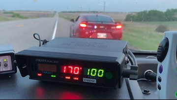 Teen caught driving 105 mph blames too many hot wings, police say