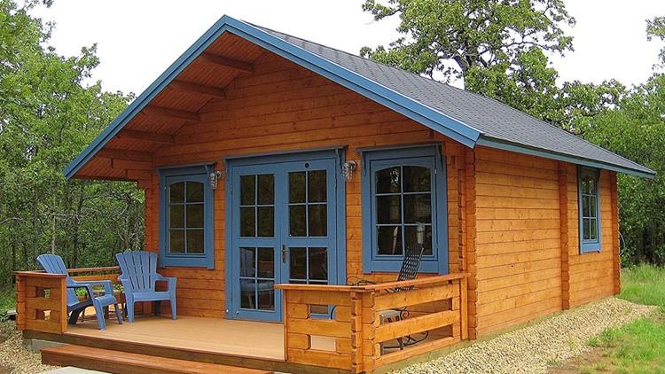 Amazon's Tiny Home - Lillevilla Allwood Cabin Kit Getaway
