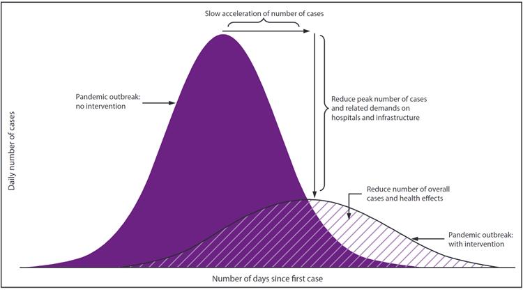 CDC Epidemic Curve