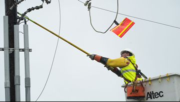 Less than 60,000 Entergy, Cleco customers without power as restoration underway after Barry