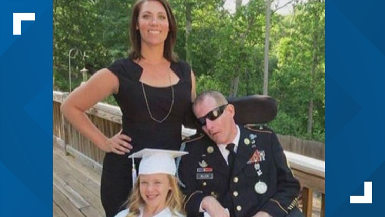 Master Sgt. Mark Allen and Family