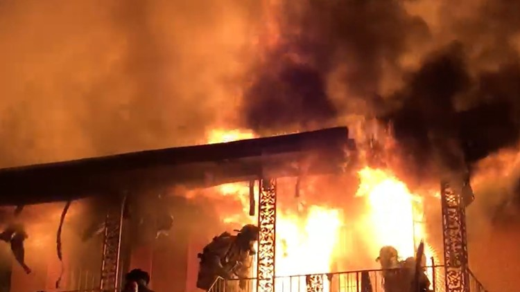 Collier Road Fire